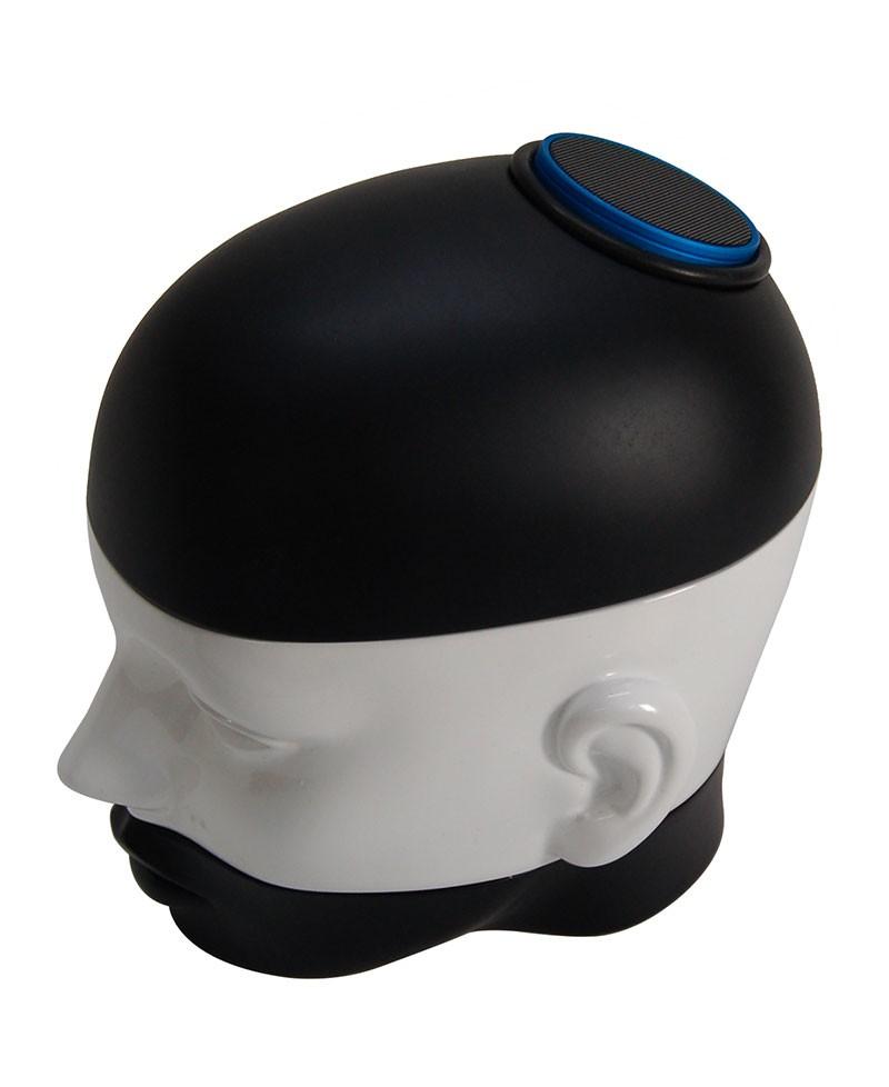 SONICA Amplificatore Bluetooth LogiLink. Box contenitore porta oggetti a forma di testa di donna. Antartidee