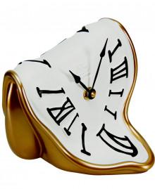 MELTING TIME CLOCK Table clock German UTS quartz clock mechanism. Antartidee
