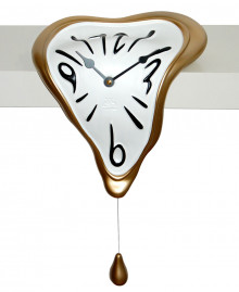 DROP SHELF CLOCK