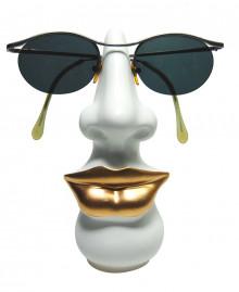 LA FEMME GLASSES HOLDER Glasses holder. Hand painted resin. Made in Italy Antartidee