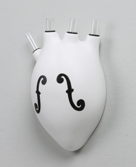 HEARTBEATS VASE VIOLIN