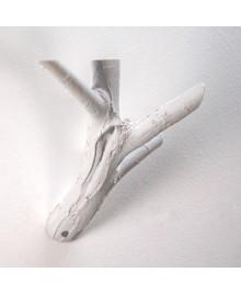 APPENDIRAMO GRANDE, Appendiabiti a forma di ramo realizzato in resina decorata a mano. Antartidee