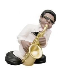 Saxophonist, Jazz Band, Antartidee