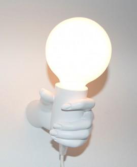 HAND WOMAN LAMP