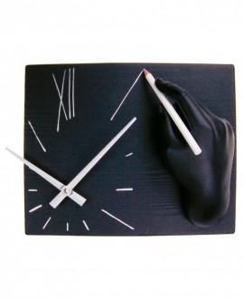 OROLOGIO SULEGNO, Antartidee Orologio da parete con mano che disegna le ore in resina decorata a mano