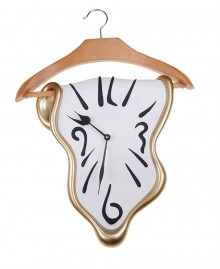 CLOTHES HANGER CLOCK