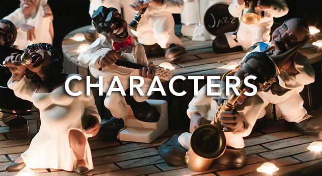 Antartidee Characters